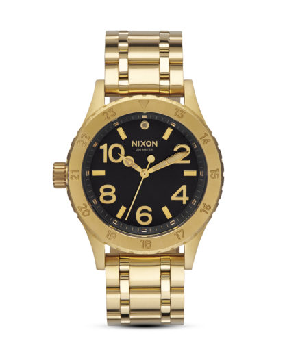 Quarzuhr 38-20 A410 2042 All Gold / Black Sunray NIXON gold,schwarz 3608700640808