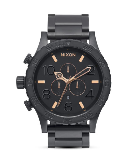 Chronograph 51-30 A083 957 All Black / Rose Gold NIXON roségold,schwarz 3608700640495