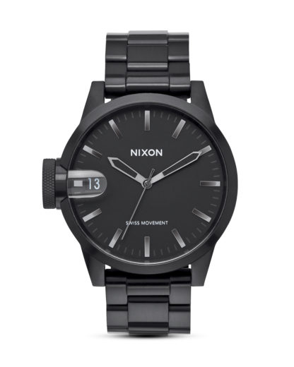Quarzuhr Chronicle 44 A441 1420 Black / Gunmetal NIXON schwarz 3608700640877