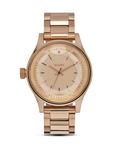 Quarzuhr Facet 38 A409 897 All Rose Gold NIXON roségold 3608700640761