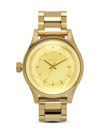 Quarzuhr Facet 38 A409 502 All Gold NIXON gold 3608700640754