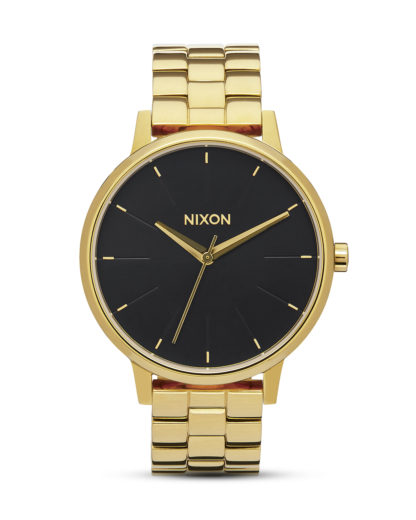 Quarzuhr Kensington A099 2042 All Gold / Black Sunray NIXON gold,schwarz 3608700640501