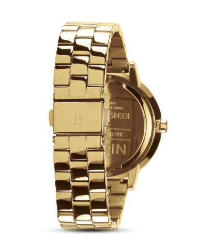 Quarzuhr Kensington A099 2042 All Gold / Black Sunray NIXON Damen Edelstahl 3608700640501