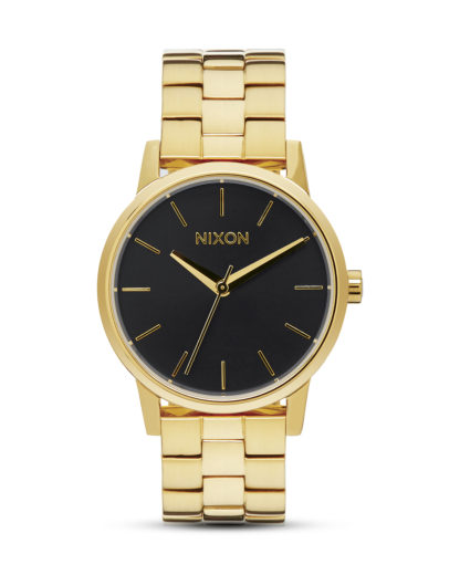 Quarzuhr Small Kensington A361 2042 All Gold / Black Sunray NIXON gold,schwarz 3608700640655