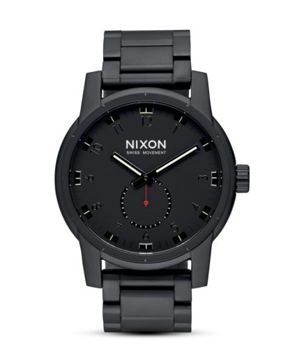 Quarzuhr Patriot A937 001-00 All Black NIXON schwarz 3608700663326