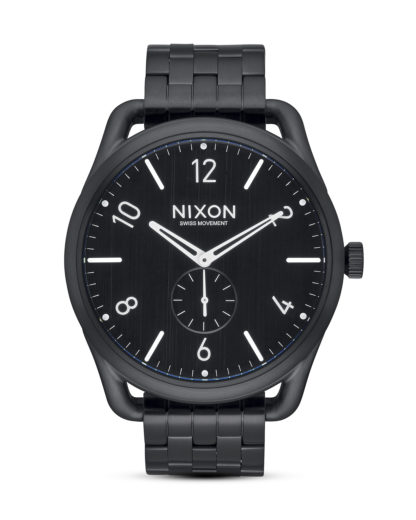 Quarzuhr C45 SS A951-001 All Black NIXON schwarz 3608700703985