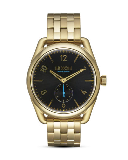 Quarzuhr Quarzuhr C39 SS A950-510 All Gold / Black NIXON gold,schwarz 3608700703978