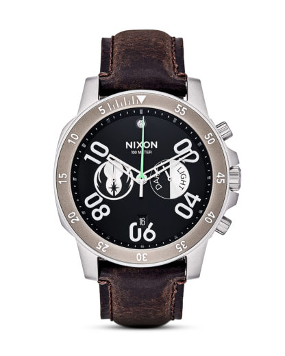 Chronograph Ranger Leather Star Wars A940SW-2377-00 Jedi Black / Brown STAR WARS ™ | NIXON braun,schwarz,silber 3608700757148