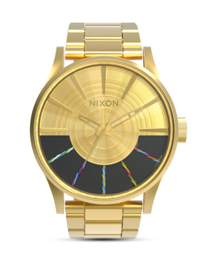 Quarzuhr Sentry SS Star Wars A356SW-2378-00 C-3PO Gold STAR WARS ™ | NIXON gold,schwarz 3608700757063