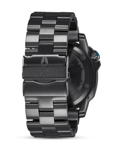 Quarzuhr Ranger 45 Star Wars A521SW-2383-00 Death Star Black STAR WARS ™ | NIXON Damen,Herren Edelstahl 3608700757100