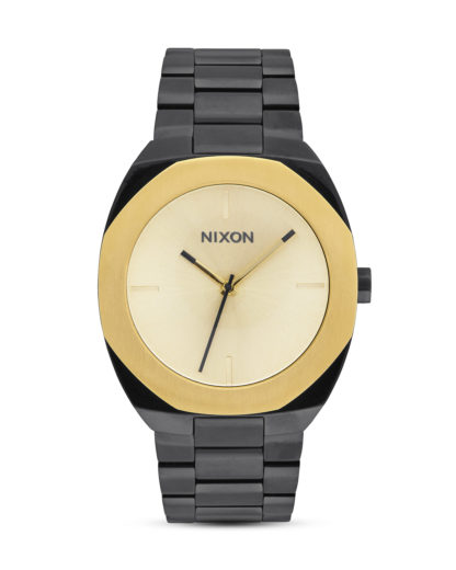 Quarzuhr Catalyst A918-010 Black / Gold NIXON gold,schwarz 3608700747262