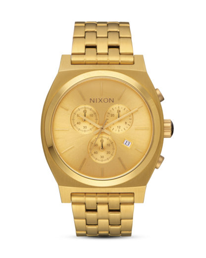 Chronograph Time Teller A972-502 All Gold NIXON gold 3608700747736