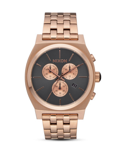 Chronograph Time Teller A972-2046 All Rose Gold / Gunmetal NIXON roségold,schwarz 3608700747712