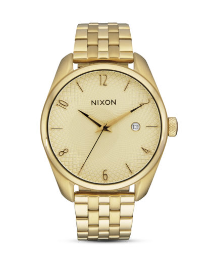Quarzuhr Bullet A418-502 All Gold NIXON gold 3608700747002