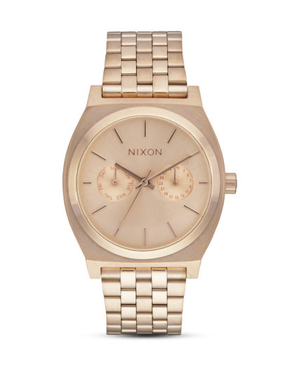 Quarzuhr Time Teller Deluxe A922-897 All Rose Gold NIXON roségold 3608700702803