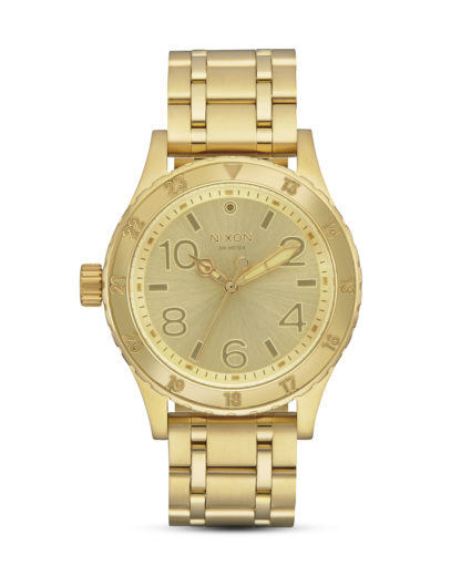 Quarzuhr 38-20 A410-502 All Gold NIXON gold 3608700746982