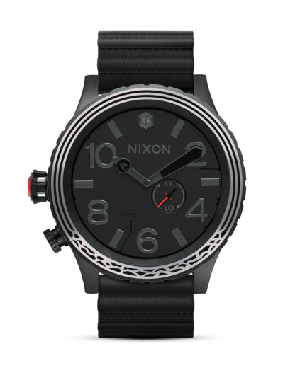 Quarzuhr 51-30 Leather Star Wars A1063SW2444-00 Kylo Black STAR WARS ™ | NIXON schwarz,silber 3608700787688