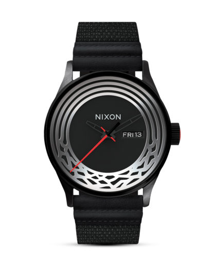 Quarzuhr Sentry Woven Star Wars A1067SW2444-00 Kylo Black STAR WARS ™ | NIXON schwarz,silber 3608700787695