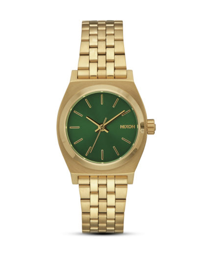Quarzuhr Small Time Teller A399-1919 Gold / Green Sunray  NIXON gold,grün 3608700772530