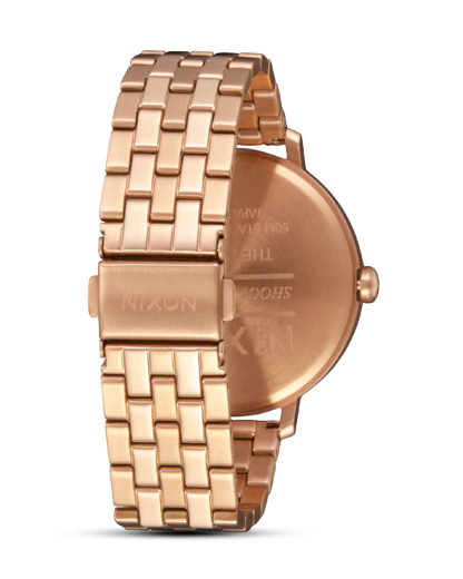 Quarzuhr Arrow A1090-897-00 All Rose Gold NIXON Damen Edelstahl 3608700818993