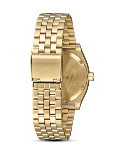 Quarzuhr Medium Time Teller A1130-1931-00 All Light Gold / Cobalt NIXON Damen Edelstahl 3608700819105