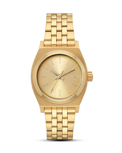 Quarzuhr Medium Time Teller A1130-502-00 All Gold NIXON gold 3608700819136