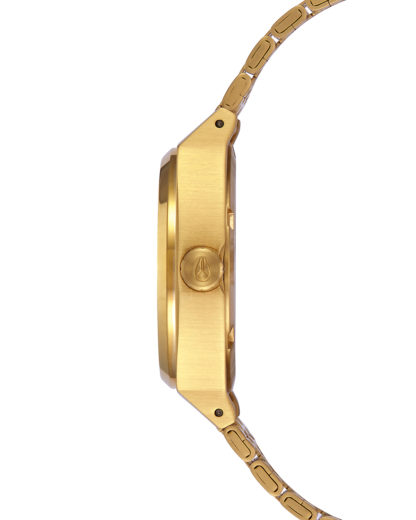 Quarzuhr Medium Time Teller A1130-502-00 All Gold NIXON Damen Edelstahl vergoldet 3608700819136