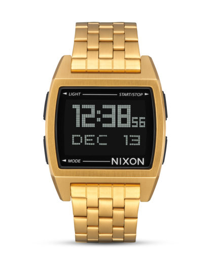 Digitaluhr Base A1107-502 All Gold NIXON gold,schwarz 3608700870106