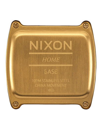 Digitaluhr Base A1107-502 All Gold NIXON Herren Edelstahl 3608700870106