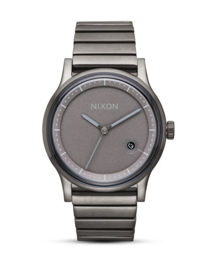 Quarzuhr Station A1160-632 All Gunmetal NIXON grau 3608700870151