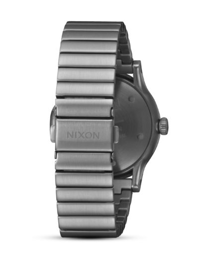 Quarzuhr Station A1160-632 All Gunmetal NIXON Herren Edelstahl 3608700870151