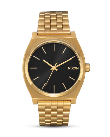 Quarzuhr Time Teller A045-2042 All Gold / Black Sunray NIXON Gold 3608700869636