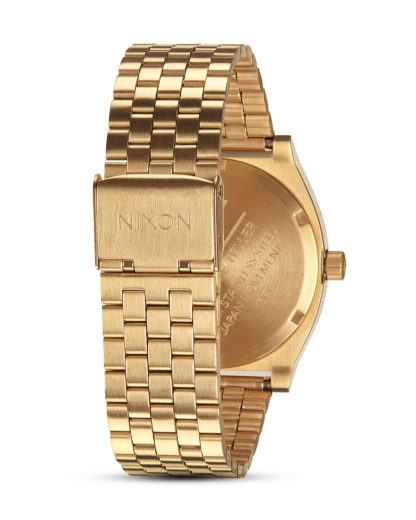Quarzuhr Time Teller A045-2042 All Gold / Black Sunray NIXON Damen,Herren Edelstahl 3608700869636