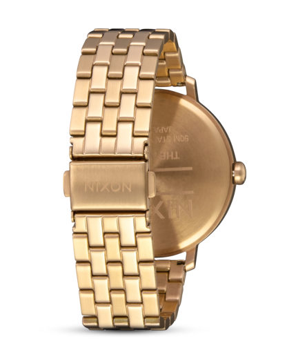 Quarzuhr Arrow A1090-504 All Gold / White NIXON Damen Edelstahl 3608700869971