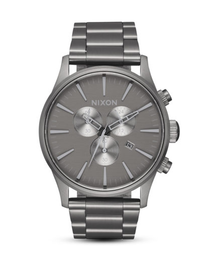 Chronograph Sentry Chrono A386-2090 All Gunmetal / Gray NIXON grau 3608700209494