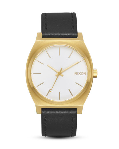 Quarzuhr Time Teller A045-2667 Gold / White Sunray / Black NIXON gold,schwarz,weiß 3608700193588