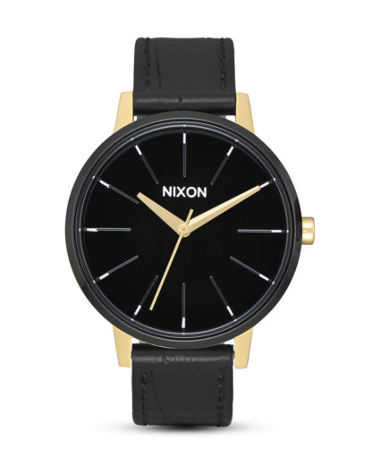 Quarzuhr Kensington A108-2226 Gold / Black / White NIXON gold,schwarz 3608700194615