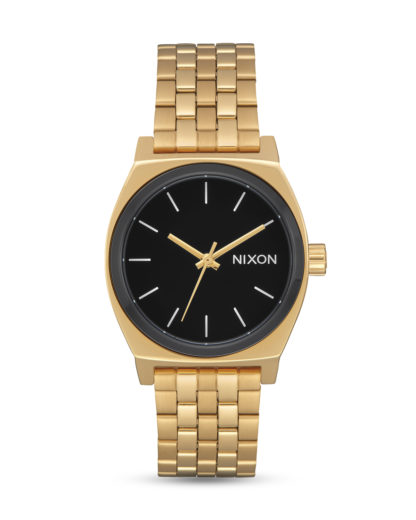 Quarzuhr Medium Time Teller A1130-2226 Gold / Black / White NIXON gold,schwarz 3608700194684