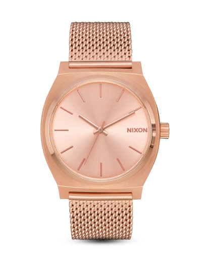 Quarzuhr Time Teller Milanese A1187-897-00 All Rose Gold  NIXON Rosegold 3608700231587