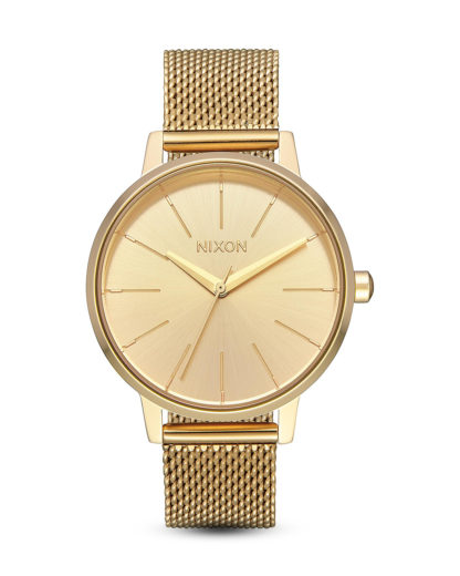 Quarzuhr Kensington Milanese A1229-502-00 All Gold NIXON Gold 3608700311883
