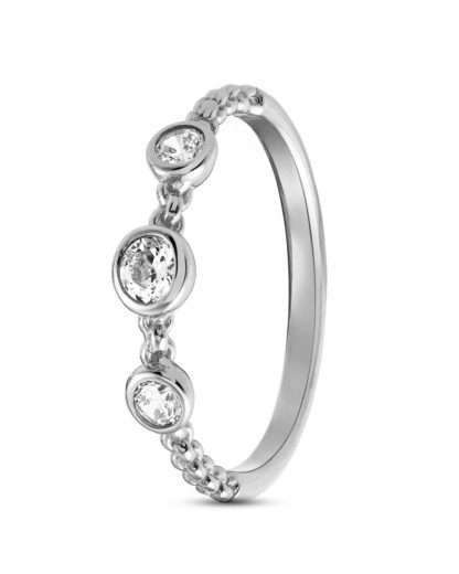 Ring Bella Brilliant aus 925 Sterling Silber mit Zirkonia NOMINATION
