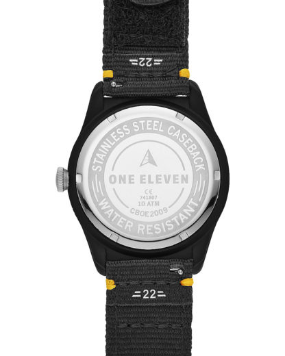 Solaruhr Eco-Drive CBOE2009 One Eleven Schwarz 4013496069051