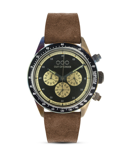 Chronograph 001-4.MS.NE OUT OF ORDER braun,schwarz,silber 4250945523898