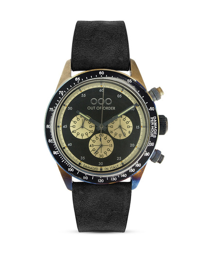 Chronograph 001-4.NE.NE OUT OF ORDER schwarz,silber 4250945523911