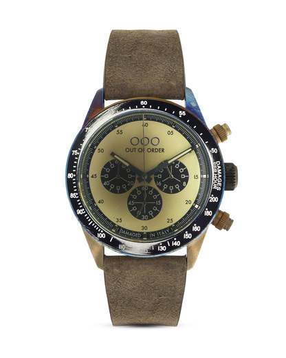 Chronograph 001-4.PA.CR OUT OF ORDER beige,silber 4250945523942