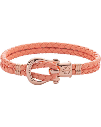 Paul Hewitt Damen-Armband Female PHINITY SHACKLE Leder/Edelstahl PAUL HEWITT Rosegold  4251158746463