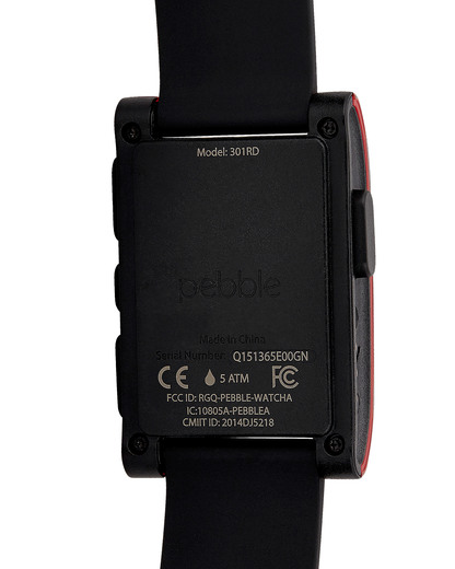 Smartwatch 301RD pebble Damen,Herren Silikon 855906004061
