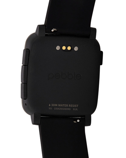 Smartwatch 501-00020 pebble Damen,Herren Silikon 855906004337