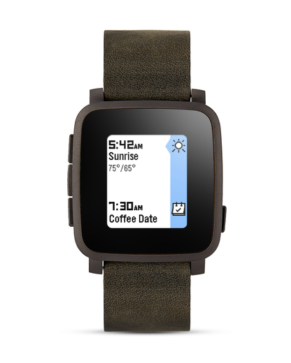 Smartwatch Time Steel 511-00024 pebble grau,schwarz 855906004375