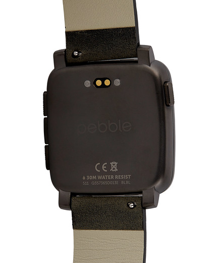 Smartwatch Time Steel 511-00024 pebble Damen,Herren Leder 855906004375